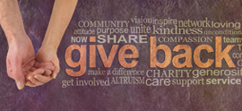 A.G.P. believes in giving back to the community